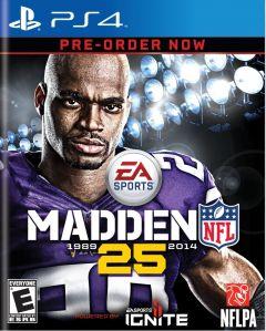 Jaquette de Madden NFL 25 PS4