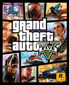 Jaquette de Grand Theft Auto V PS4