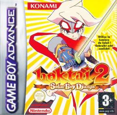 Jaquette de Boktai 2 : Solar Boy Django Game Boy Advance