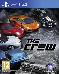 Jaquette de The Crew PS4