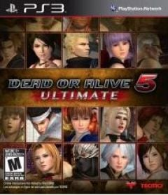 Jaquette de Dead or Alive 5 Ultimate PlayStation 3