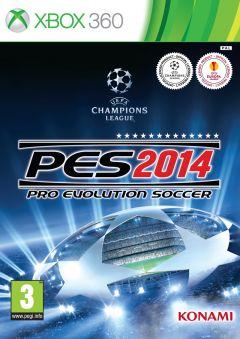 Jaquette de PES 2014 Xbox 360