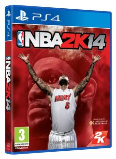 Jaquette de NBA 2K14 PS4