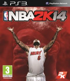 Jaquette de NBA 2K14 PlayStation 3