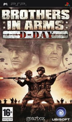 Jaquette de Brothers in Arms D-Day PSP