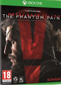 Jaquette de Metal Gear Solid V : The Phantom Pain Xbox One
