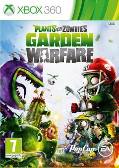 Jaquette de Plants vs Zombies : Garden Warfare Xbox 360