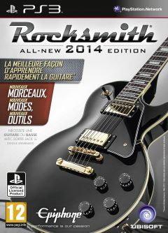 Jaquette de Rocksmith Edition 2014 PlayStation 3