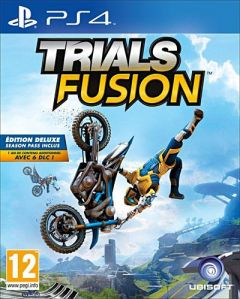 Jaquette de Trials Fusion PS4