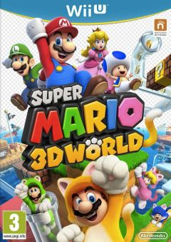 Jaquette de Super Mario 3D World Wii U