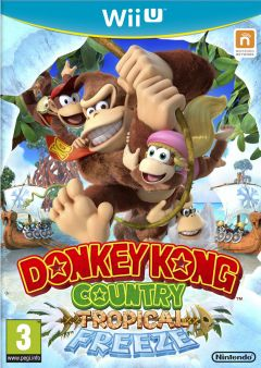 Jaquette de Donkey Kong Country Tropical Freeze Wii U