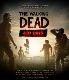 Jaquette de The Walking Dead : 400 Days PlayStation 3