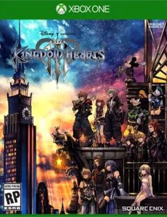 Jaquette de Kingdom Hearts III Xbox One
