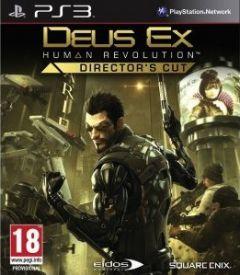 Jaquette de Deus Ex : Human Revolution Director's Cut PlayStation 3