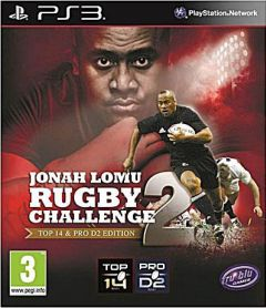 Jaquette de Jonah Lomu Rugby Challenge 2 PlayStation 3