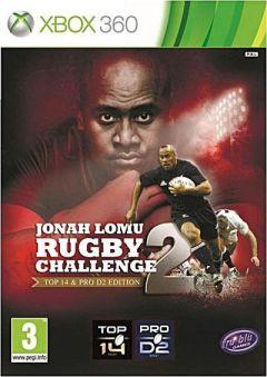 Jaquette de Jonah Lomu Rugby Challenge 2 Xbox 360