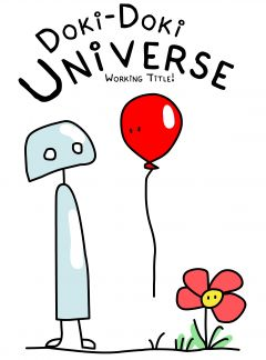 Jaquette de Doki-Doki Universe PS4