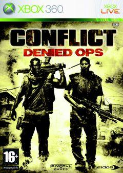 Jaquette de Conflict : Denied OPS Xbox 360