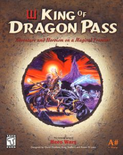Jaquette de King of Dragon Pass PC