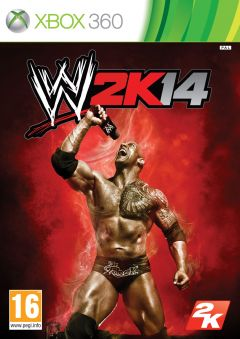Jaquette de WWE 2K14 Xbox 360