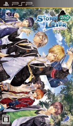 Jaquette de Storm Lover 2nd PSP