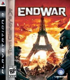 Jaquette de Tom Clancy's EndWar PlayStation 3