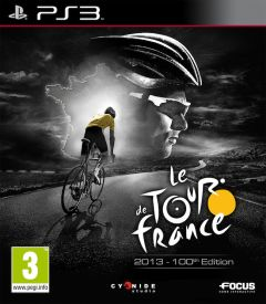 Jaquette de Le Tour de France 2013 PlayStation 3