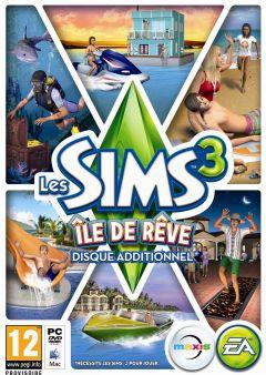 Jaquette de Les Sims 3 : Ile de Rêve PC