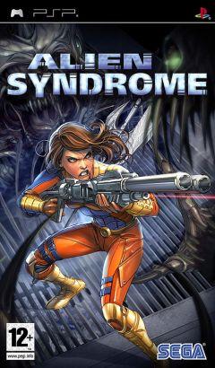 Jaquette de Alien Syndrome PSP