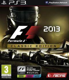 Jaquette de F1 2013 : Classic Edition PlayStation 3