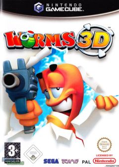 Jaquette de Worms 3D GameCube