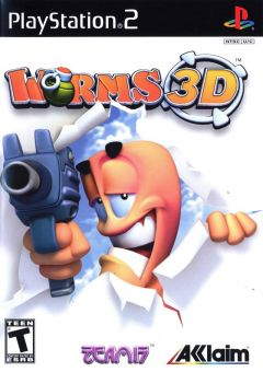 Jaquette de Worms 3D PlayStation 2
