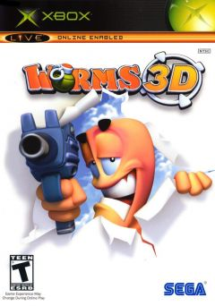 Jaquette de Worms 3D Xbox