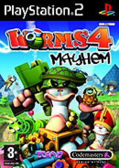 Jaquette de Worms 4 : Mayhem PlayStation 2
