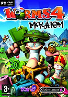 Jaquette de Worms 4 : Mayhem PC