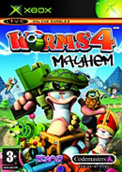 Jaquette de Worms 4 : Mayhem Xbox