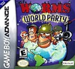 Jaquette de Worms World Party Game Boy Advance