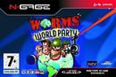 Jaquette de Worms World Party N-Gage