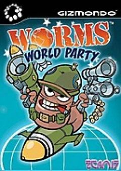 Jaquette de Worms World Party Gizmondo