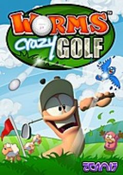 Jaquette de Worms Crazy Golf PC