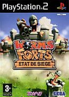 Jaquette de Worms Forts : Etat de Siege PlayStation 2