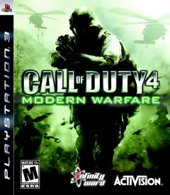 Jaquette de Call of Duty 4 : Modern Warfare PlayStation 3