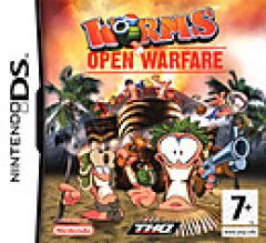 Jaquette de Worms : Open Warfare DS