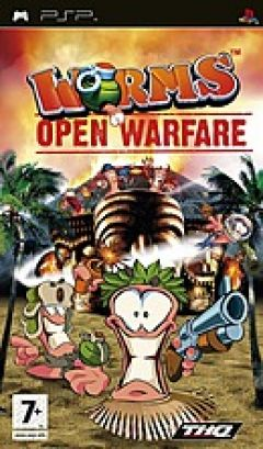 Jaquette de Worms : Open Warfare PSP