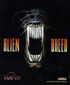 Jaquette de Alien Breed Amiga