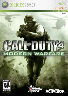 Jaquette de Call of Duty 4 : Modern Warfare Xbox 360