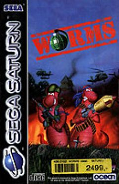 Jaquette de Worms Sega Saturn