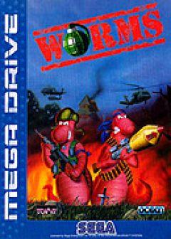 Jaquette de Worms Megadrive