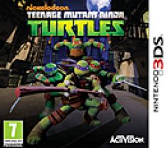 Jaquette de Nickelodeon Teenage Mutant Ninja Turtles DS
