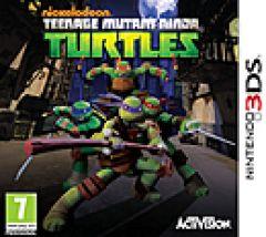 Jaquette de Nickelodeon Teenage Mutant Ninja Turtles DS